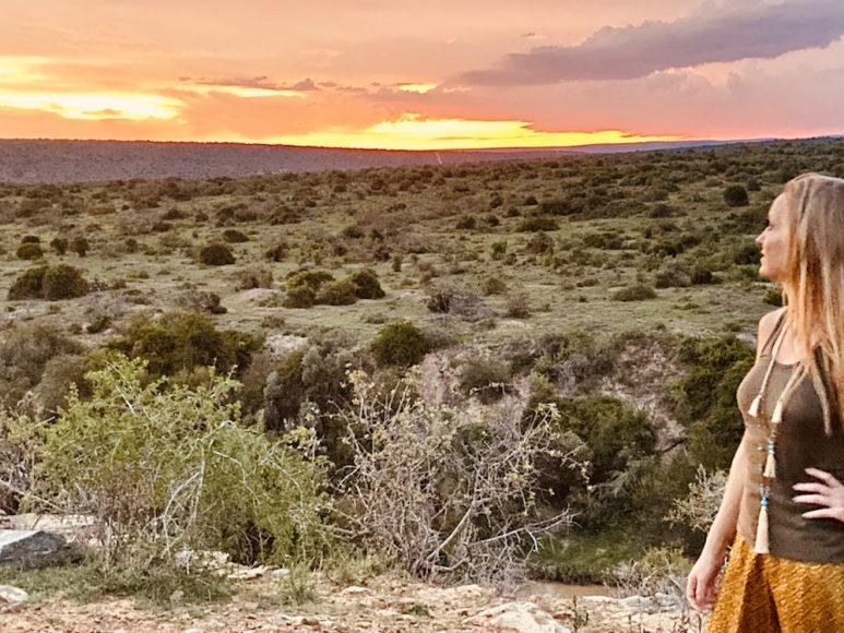 Kwandwe sunset